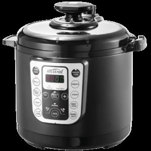 6 Litre Multi Pressure Cooker Matte Black