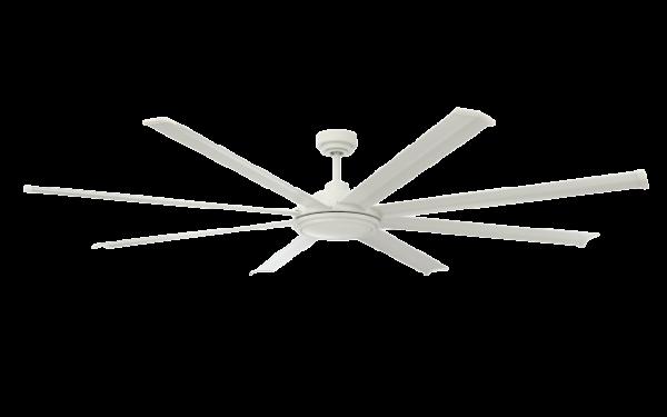 Matte White Ceiling Fan